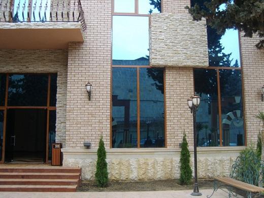Применение клинкерной плитки ADW на фасаде здания