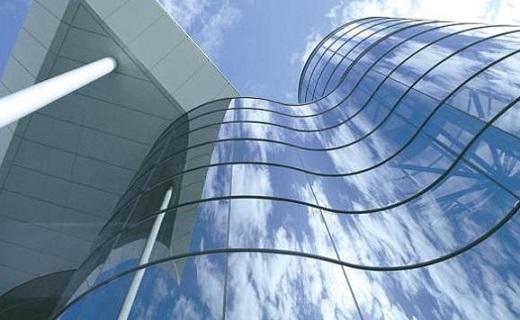 Алюминиевый фасад на фото