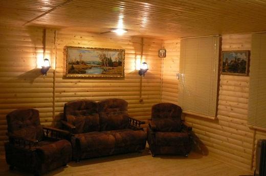 Блок хаус дерево в интерьере на фото
