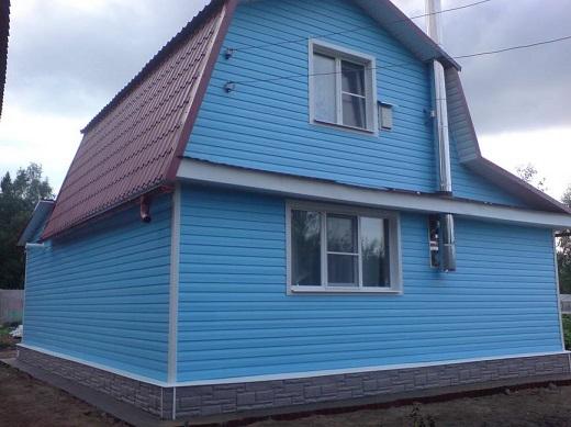 Применение винилового сайдинга нордсайд для облицовки фасада жилого дома