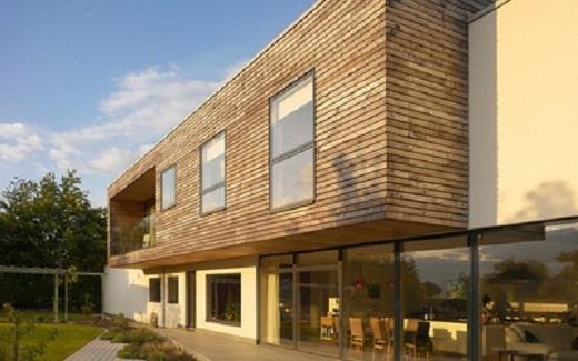 Облицовка фасада дома пластиковым блок хаусом