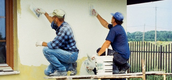 Руководство по отделке фасада дома штукатуркой