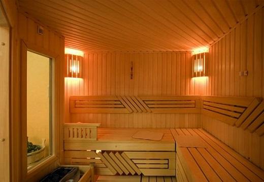 Внутренняя отделка бани вагонкой блок-хаус