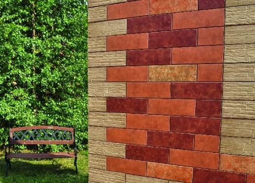 Плитка Сокол фасадная на снимке