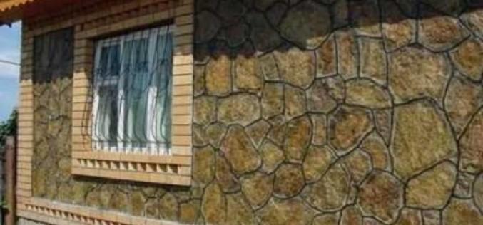 Применение натурального камня для облицовки фасада