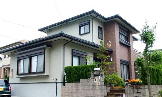 Японский вентилируемый фасад на снимке