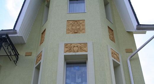 Силикатная штукатурка в системе мокрого фасада на здании