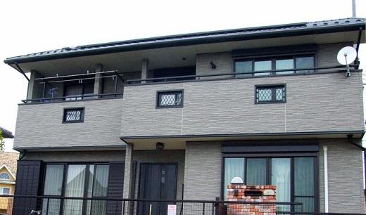 Японская плитка для фасадов на картинке
