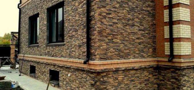 Искусственный и натуральный камень для декоративной наружной отделки дома: какой выбрать?