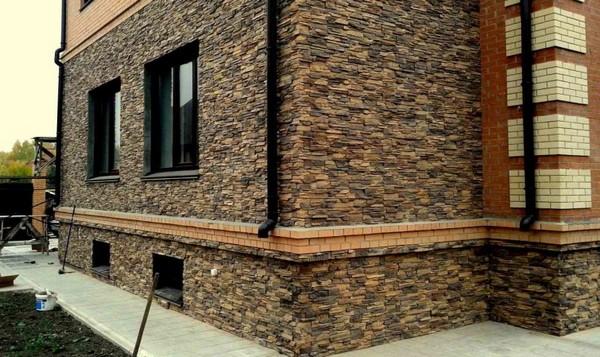 Декоративный камень для наружной отделки дома