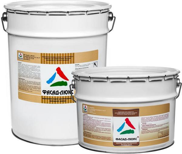 Фасадная краска для наружных работ по бетону