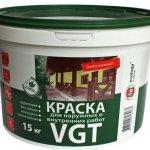 Виды и производители фасадных красок  для наружных работ по дереву: обзор