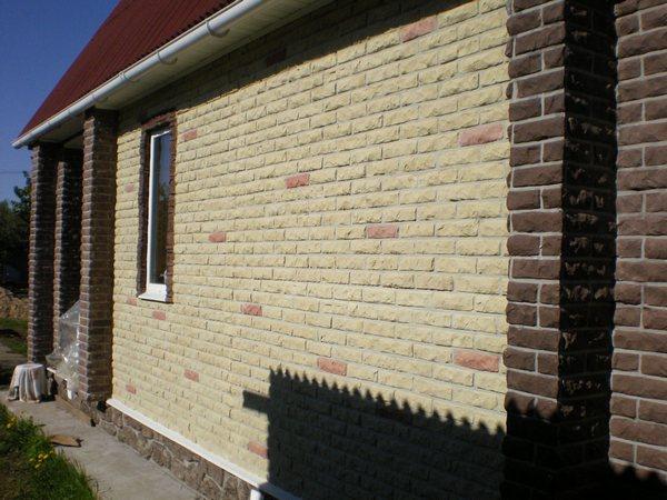 Фасадные панели под кирпич для наружной отделки