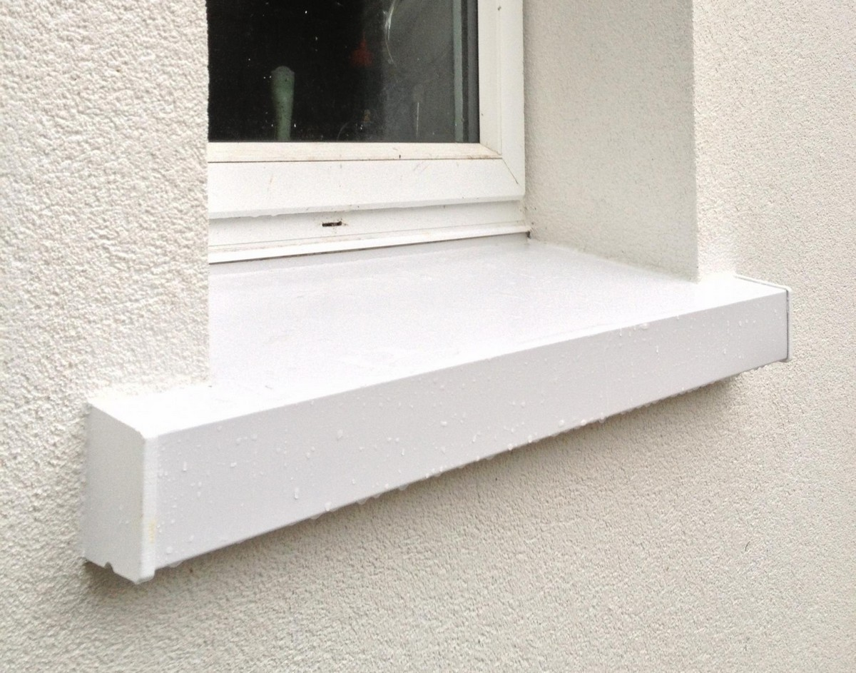 Elegant Vinyl Window Sill Cover