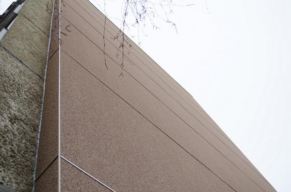 Панели ЦСП для облицовки фасада