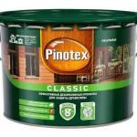 «Пинотекс»: производитель составов для наружной обработки деревянных фасадов