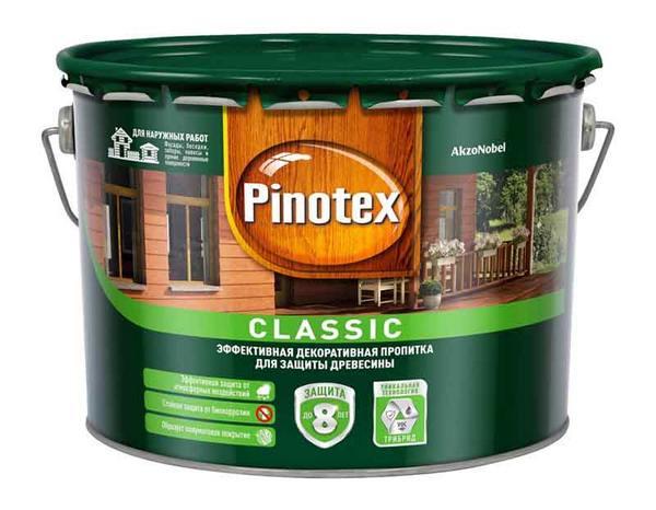 Пинотекс для наружных работ по дереву